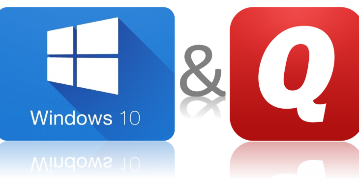 windows 10 and quicken