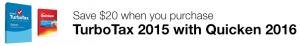 TurboTax 2015 Bundle with Quicken 2016