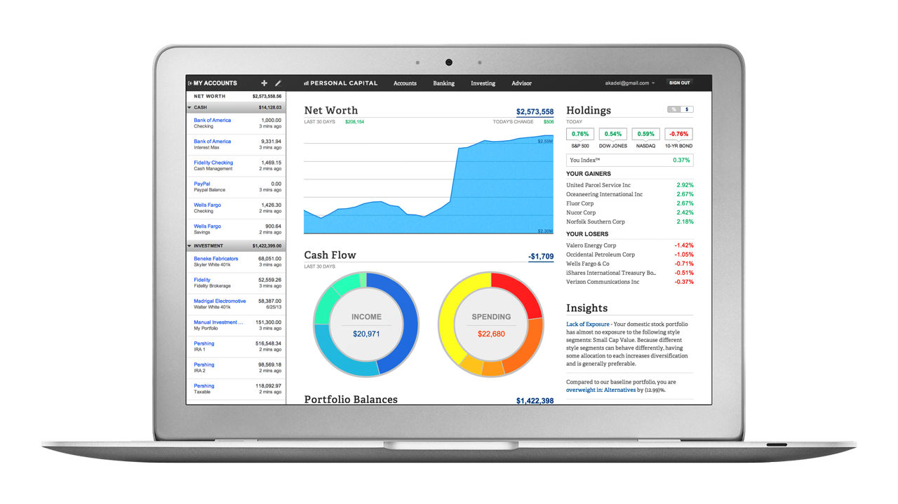 Is Personal Capital an Alternative to Quicken? - Top Financial Tools