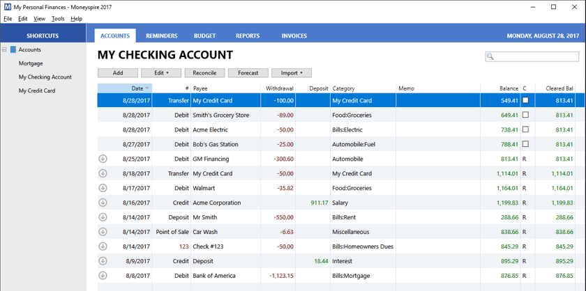 Moneyspire Personal Finance Software Review: A Top Quicken Alternative