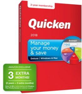 Quicken 2018 27-month Membership