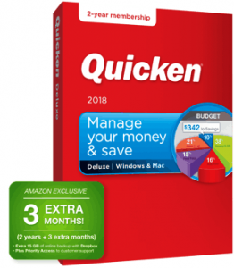 Quicken 2018 27-month Membership