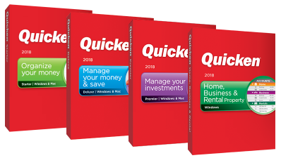 quicken 2018 windows versions editions