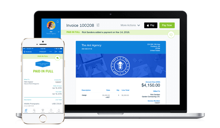FreshBooks Invoicing Software