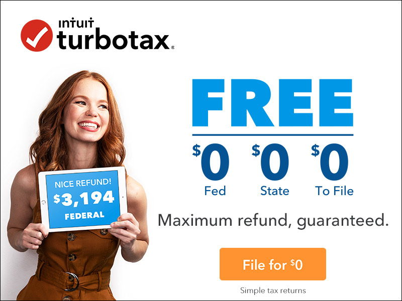 free turbotax efile maximum refund guarantee